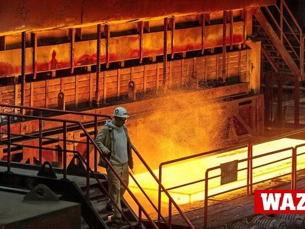 Thyssenkrupp Stahl: Thyssenkrupp investiert in Stahlwerk für bessere Autobleche