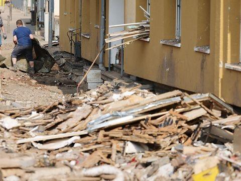 Hochwasser: 851 Anträge auf Wiederaufbauhilfe eingereicht