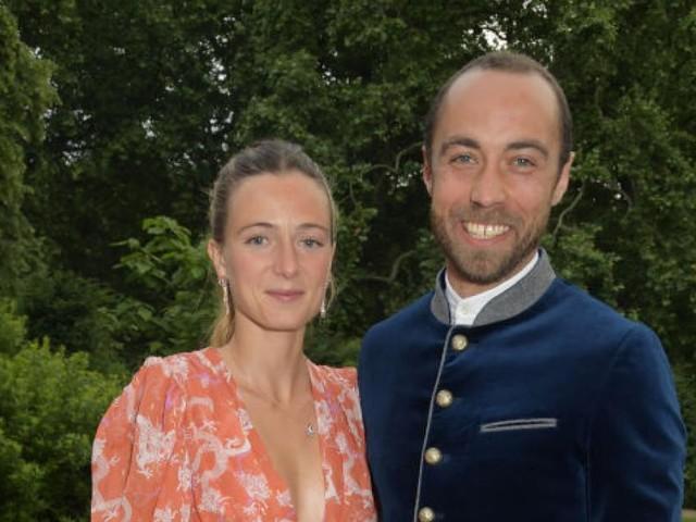 Bilder: Alizée Thevenet trug bei Hochzeit mit Herzogin Kates Bruder besonderes Brautkleid