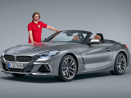 BMW Z4 (2019): Preise, Motoren, Test, Roadster, M40i Das wird der neue BMW Z4