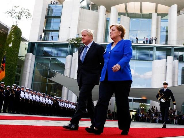 """Johnson kommentiert Brexit mit Merkel-Zitat: """"Wir schaffen das"""""""