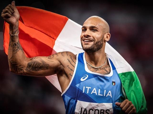 Erster Europäer seit '92: Wie sich Italiens Jacobs zum 100-Meter-König krönte