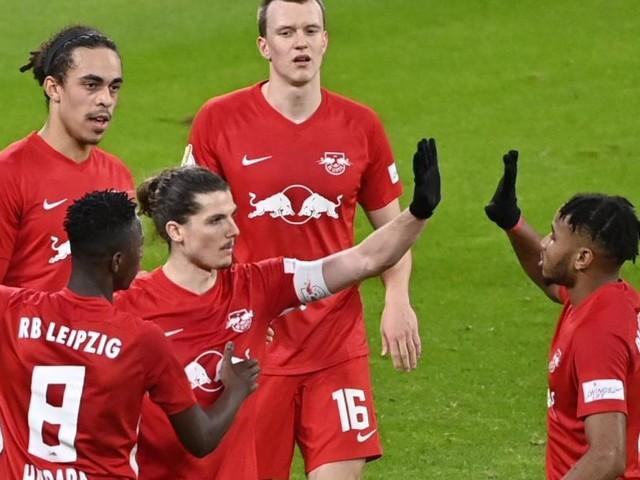 Leipzig steht zum zweiten Mal im deutschen Cup-Viertelfinale