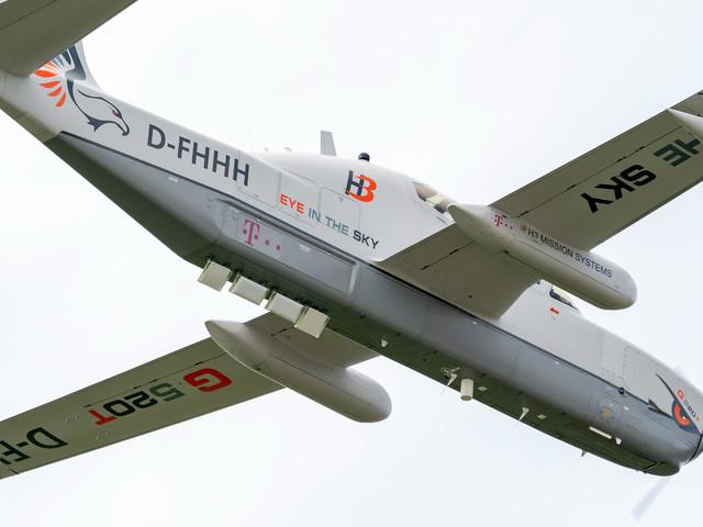 Flugzeug als Mobilfunkstation: Telekom testet ferngesteuertes Flugzeug