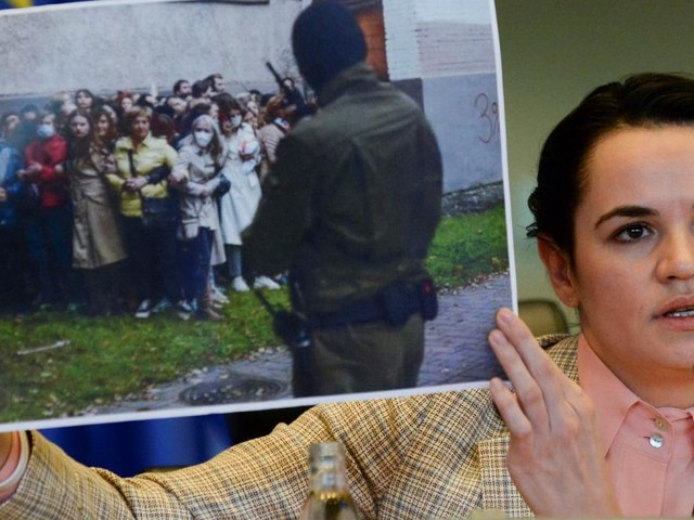 Tichanowskaja bezeichnet Widerstandskampf in Belarus als verloren