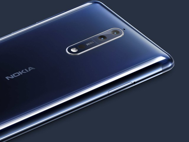 Nokia 8 mit 6 GB RAM und 128 GB Speicher ab Oktober erhältlich