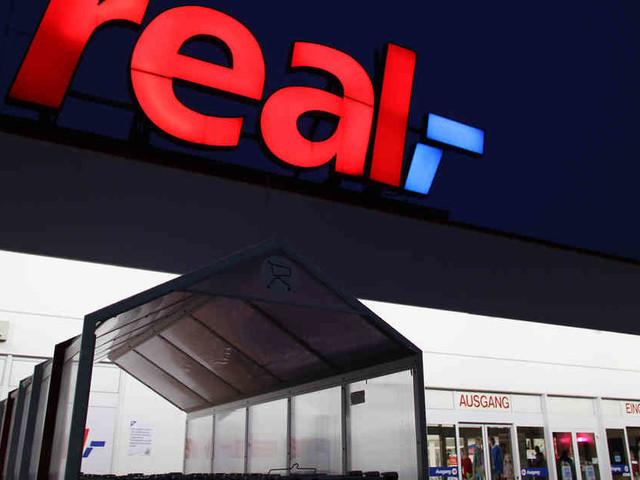 Geplanter Verkauf: Real-Betriebsrat sieht 10.000 Arbeitsplätze in Gefahr