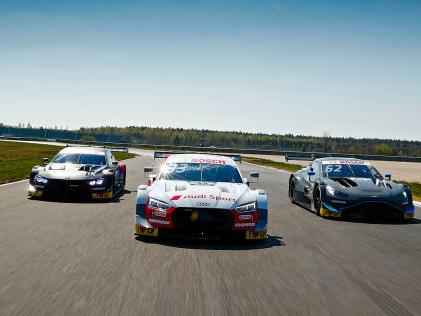DTM-Test am Lausitzring Generalprobe einer neuen Generation