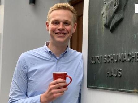 Jakob Blankenburg ist einer der Jüngsten im neuen Bundestag