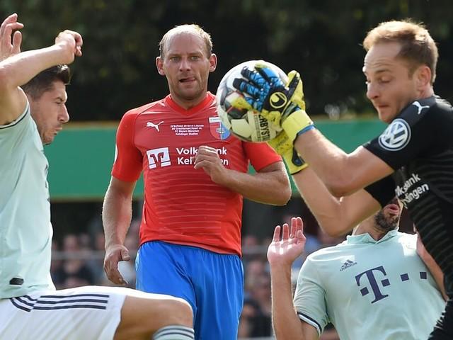 DFB-Pokal: FC Bayern quält sich gegen Dochtersen/Assel in die zweite Runde
