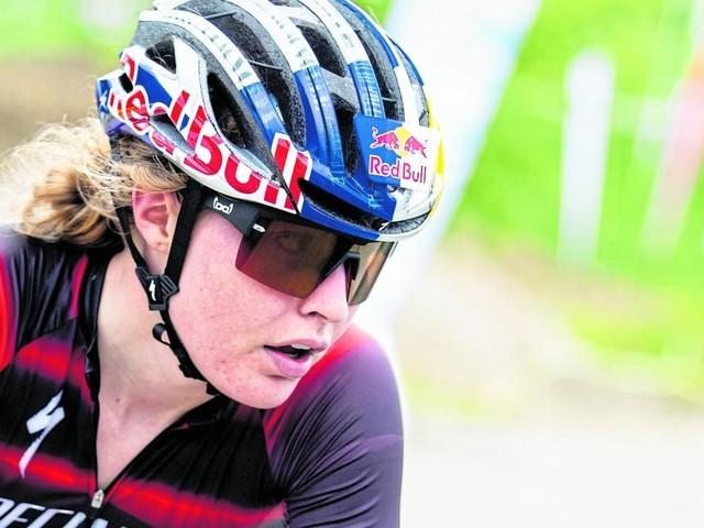 Stigger musste beim Mountainbike-Bewerb aufgeben