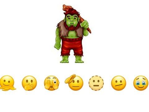 Von Troll bis Einmachglas: Das sind die neuen Emojis