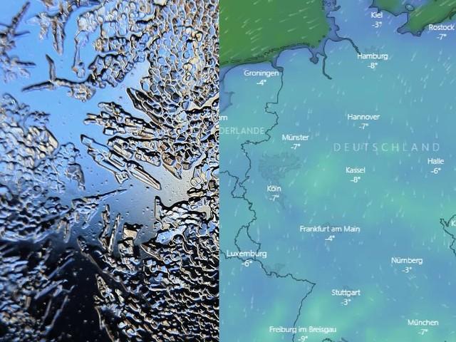 Bis minus 20 Grad: Vorsicht, frostig: Live-Karte zeigt, wo das eisige Winterwetter in Deutschland zuschlägt