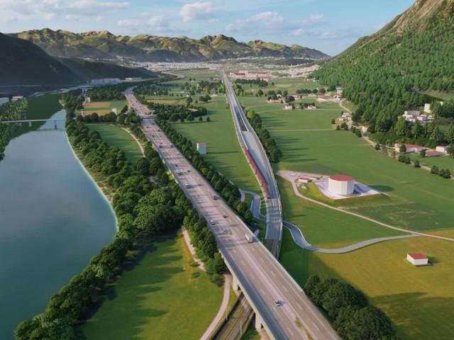 Finale Bahntrasse für Zulauf zum Brennertunnel ausgewählt