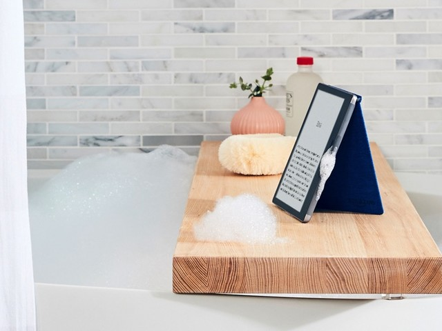 E-Book-Reader für die Badewanne: Neuer Amazon Kindle Oasis kommt wasserfest und mit mehr Speicher