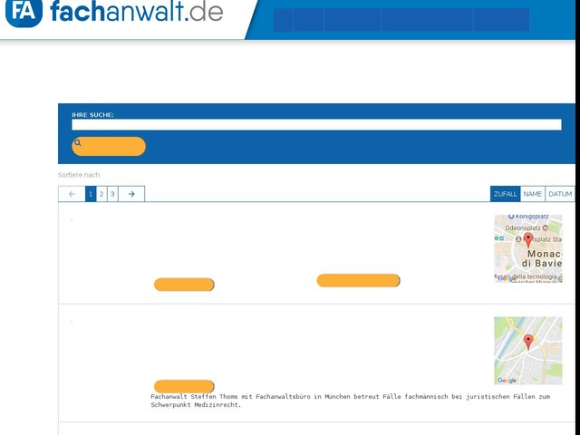 Rechtsanwalt Medizinrecht in München gesucht?