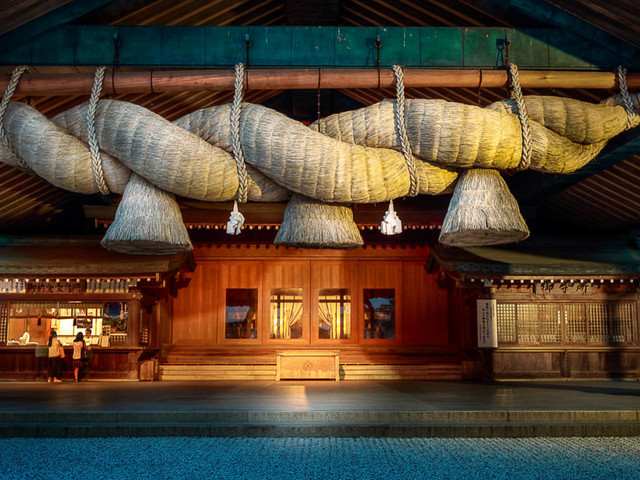 Vor allem Frauen besuchen ihn: Izumo-Taisha – der Liebes-Schrein der Japaner
