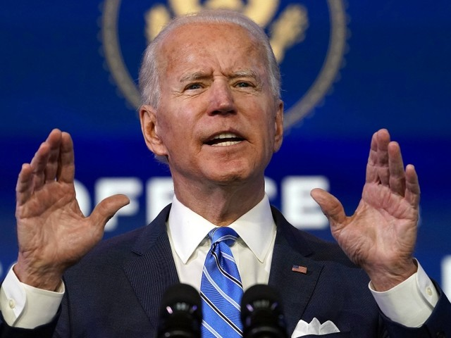 """Joe Biden: """"Wir sind im Krieg mit diesem Virus"""""""