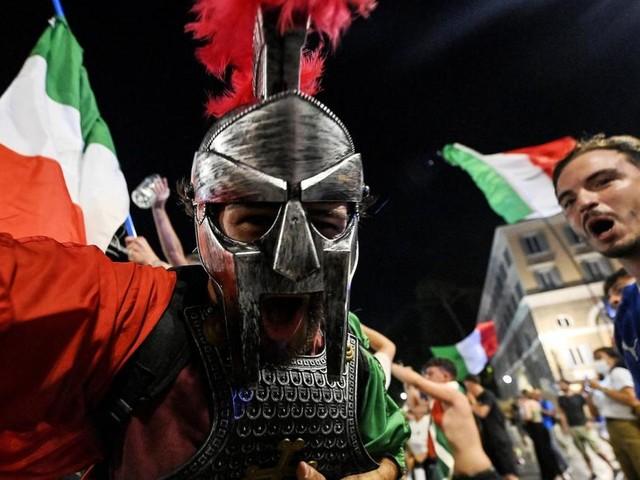 """""""It's coming Rome"""": Italien feiert EM-Titel"""