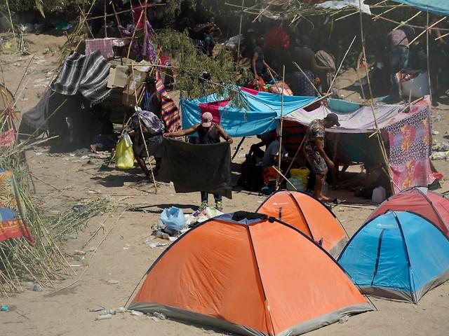 Wegen Zuständen in Del Rio: Biden forciert Abschiebungen nach Haiti