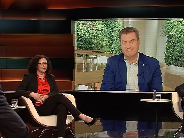 """TV-Kolumne """"Markus Lanz"""" - Nach jeder Menge Provokationen sichert Lanz erstmal ab, dass Söder ihm nicht absagt"""