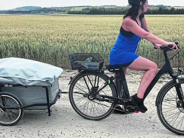 Von Wien ins Burgenland mit E-Bike und Schildkröte