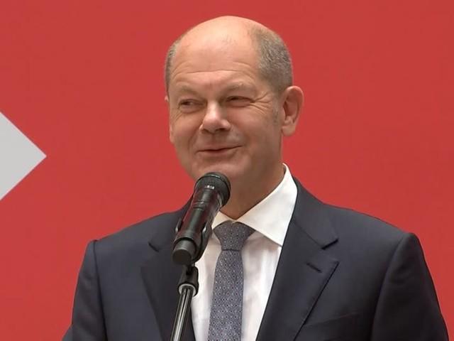 Video: Scholz sieht Fortschrittsgedanken als Gemeinsamkeit mit Grünen und FDP