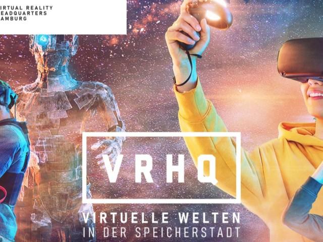 Zu Besuch im VRHQ Hamburg