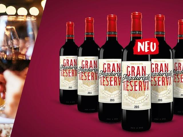 Shopping-Deal mit FOCUS Online - Rotwein-Paket Gran Reserva: 6 Flachen und zwei Kristallgläser für nur 29,90 statt 53,70 Euro sichern