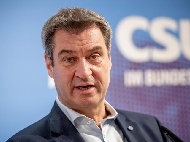 """Bundestagswahl: Söder teilt gegen Laschet aus und gratuliert Scholz – """"eine Stilfrage"""""""