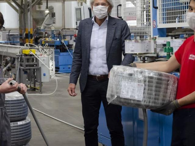 Dietzel Univolt-Chef Steigenberger vom Shutdown überrascht