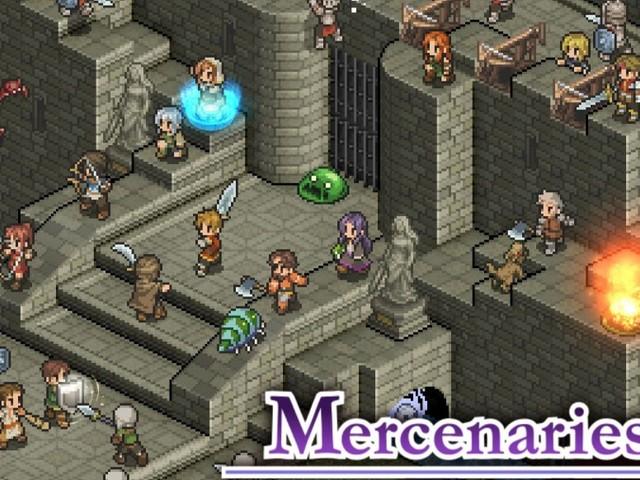Mercenaries Saga Chronicles: Taktik-Rollenspiel-Trilogie für Switch angekündigt