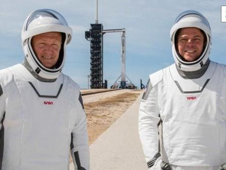Landung am Sonntagabend: US-Astronauten von ISS auf dem Weg zur Erde