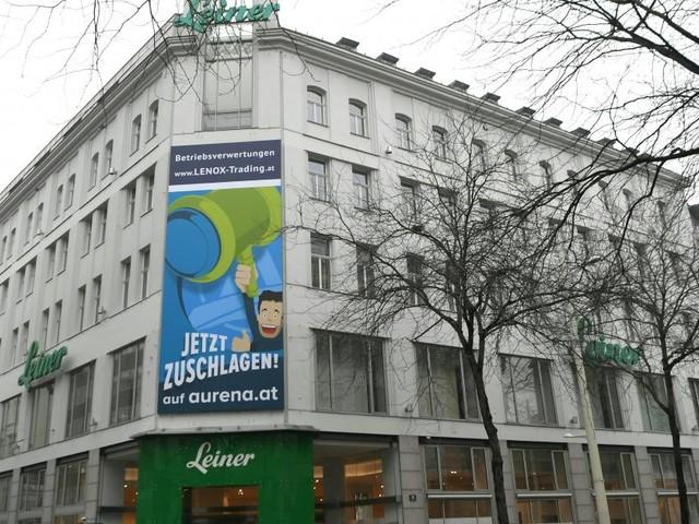 """Baustart für Benkos """"KaDeWe Wien"""" - Leiner wird abgerissen"""