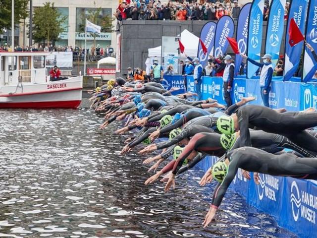 Deutscher Doppel-Sieg bei Triathlon-Weltserie in Hamburg