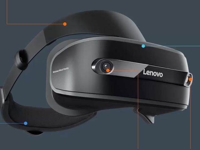 VR |Lenovo Explorer Mixed-Reality-Brille kostet 450 Euro