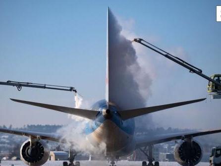 Winterflugplan zu zwei Dritteln wiederhergestellt