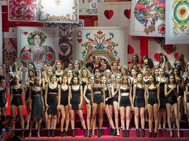 Modewoche: Furioses Finale mit Dolce & Gabbana und Stella Jean
