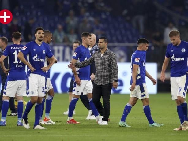 """FC Schalke 04: Schalke-Trainer Grammozis über Victor Palsson: """"Kann passieren"""""""