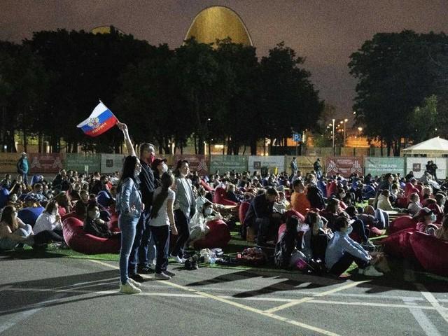 Fußball-EM: Steigende Corona-Zahlen:Fanzone in Moskau wird geschlossen