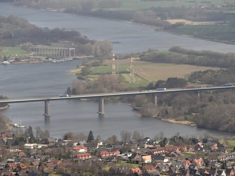 Nur wenige Brücken im Norden in guter Verfassung