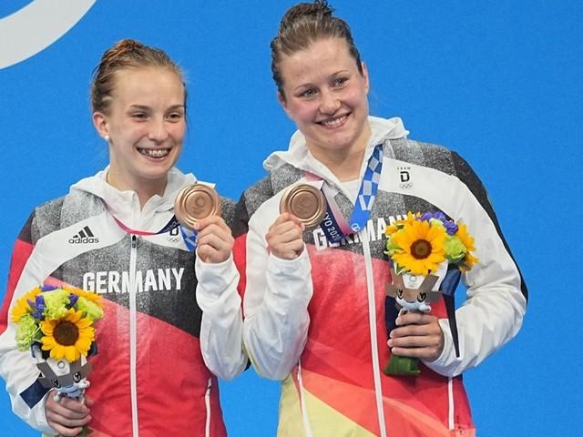 Zweimal Bronze: Erste Medaillen fürs deutsche Team