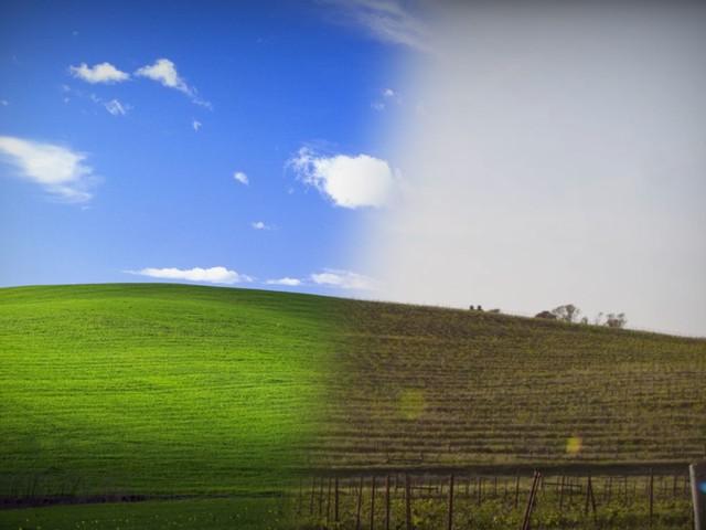 Zweitteuerstes Foto aller Zeiten: Hier entstand das Hintergrundbild von Windows XP