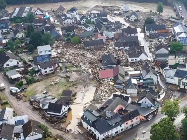 Zahl der Opfer nach den Unwettern steigt - Häuser in der Eifel eingestürzt