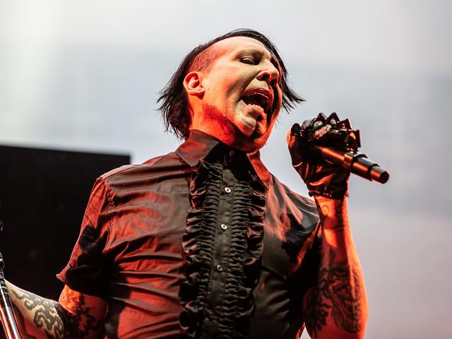 Nach schwerem Bühnenunfall: Marilyn Manson wollte Dave Grohls Thron nicht benutzen