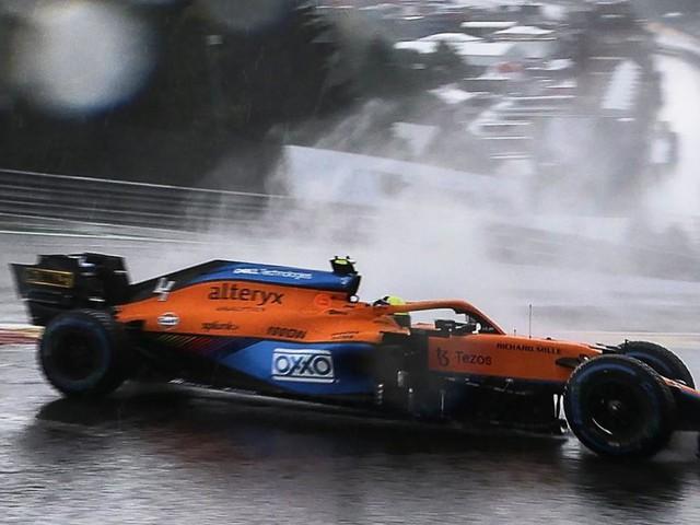 Schwerer Unfall von Lando Norris im Formel-1-Qualifying in Spa