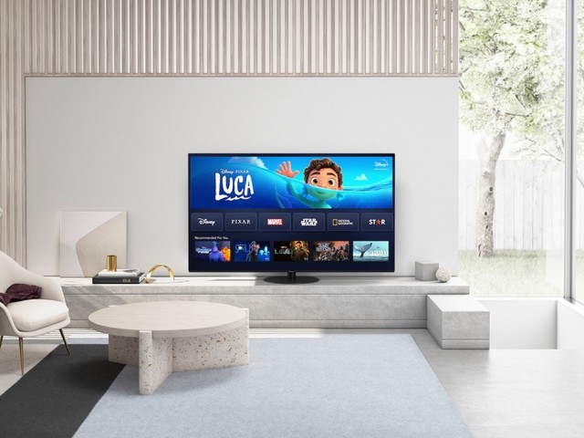 Disney+ startet auf Panasonic 4K TVs