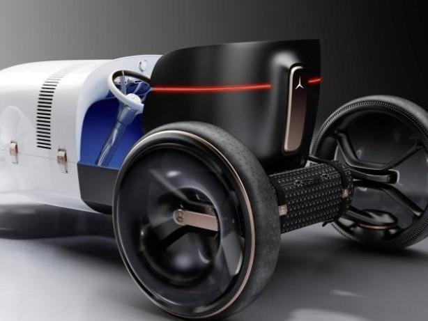 Zurück in die Zukunft: Mercedes-Studie zitiert legendären Oldie