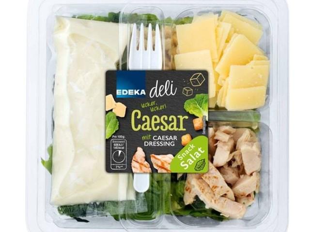 """""""Edeka deli Caesar Snack Salat"""": Hersteller ruft Salatmischung zurück"""