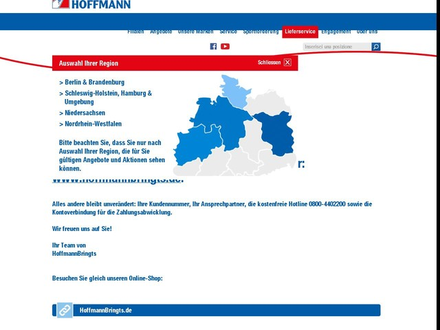 Lieferservice Berlin: HoffmannBringts von Getränke Hoffmann ...
